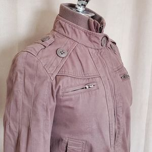 Fitted Cotton Jacket by Blend